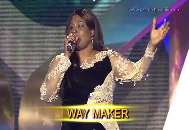 way maker sinach